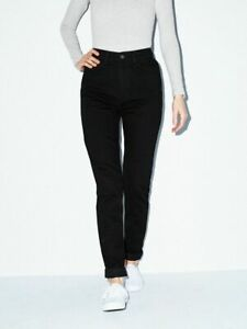 The High Waist Jean American Apparel Black Size 27, RSADM304W retail $50 plus