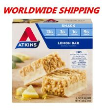 Atkins Chocolate Peanut Butter Protein Rich Meal Bar 7.05 Oz 5 Ct WORLD SHIPPING