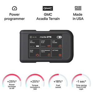 GMC ACADIA TERRAIN tuning chip box power programmer performance tuner OBD2