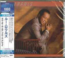 LOU RAWLS-LOVE ALL YOUR BLUES AWAY -JAPAN CD B63