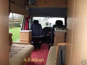 Ford Transit Campervan conversion Diy plan and parts list Motorhome