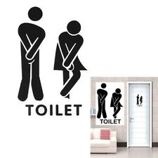 Coffee Bar Toilet Bathroom Door Sex Sign Wall Sticker Vinyl Art Removable CA