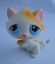 Littlest Pet Shop #52 Short Hair Ginger&White Kitten Cat Blue Eye 2004 Pairs Lps
