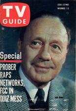 1959 TV Guide November 7 - Angela Cartwright; Rod Serling Twilight Zone; Bonanza