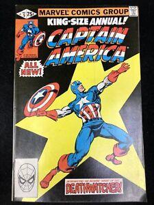 Captain America King-Size Annual #5 (Marvel 1981) Deathwatcher ~ 8.5 VF+
