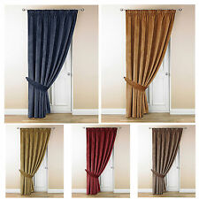 Polyester Tape Top Contemporary Curtains & Pelmets