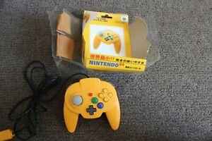 Official Authentic Yellow Hori Mini Pad Controller Nintendo 64 N64 w/ Box