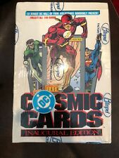 1991 DC Cosmic Cards  Factory Sealed Box Of Trading Cards 36 Packs By Impel