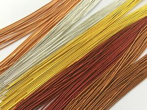 Finely Coiled Flexible French Wire/Thread Guardian - Various Sizes/Colours