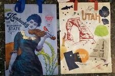2 X Lot Trader Joe's reusable Shopping ECO bag Kentucky & Utah