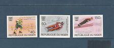 Niger  jeux olympiques de Innsbruck    1976   num:  352/54   ND  **