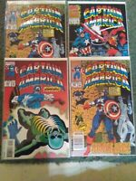 Marvel Comics Captain America Lot Of 4 Modern Age VF To NM