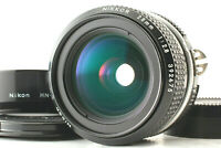 【Mint w/HOOD】 Nikon Nikkor Ai converted 28mm f/2.8 Wide Angle MF Lens From Japan