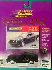 1977 FORD MUSTANG COBRA II   JOHNNY LIGHTNING CLASSIC GOLD COLLECTION   1:64