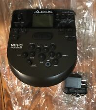 Alesis Nitro Drum Module Brain & Power Supply for Electronic Drum Kit