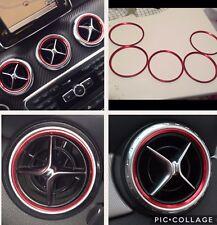 Mercedes AMG Classe A B Cla Gla Bocchette Aria Set 5 Pezzi