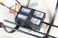 Dual Battery Parallel Mount for DJI F450 F550 Multifunction Landing Skid Gear