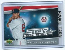 Dustin Pedroia 2006  06 Upper Deck Star Attractions Rookie Card #sa-dp