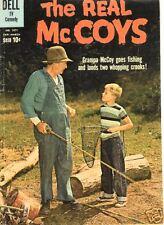 RARE DELL  TV COMIC THE REAL MCCOYS  #1071 '60 VF