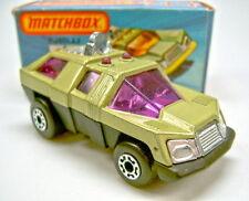 """Matchbox No.59C Planet Scout avocado & black """"Adventure 2000"""" mint/boxed"""