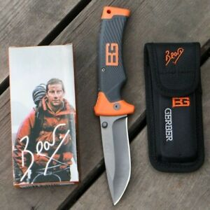 Genuine Gerber Folding Knife G10ABS Handle Outdoor Tactical Camping Hunting Tool