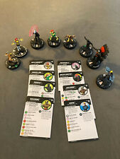 heroclix house of x lot of 8 clix rare common uncommon professor x 042 wolverine