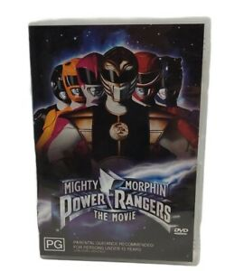 Mighty Morphin Power Rangers The Movie DVD Free Tracked Post