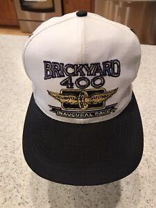 Vintage BRICKYARD 400 INAUGURAL RACE Snapback baseball Hat  cap 1994 NASCAR USA