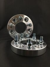 "2x Wheel Adapters | 5x100 to 5x114.3 | 12x1.5 studs | 15mm 0.59"" Inch"