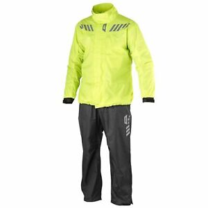 Waterproof Over Jacket And Trousers > Givi CRS02EX 2 Piece Suit - Black / Fluo
