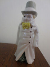 NICE VINTAGE ROYAL WORCESTER BUDGE CANDLE SNUFFER FIGURINE