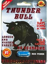 Thunder Bull Triple Maximum Max Power Enhancement Pill for Men (6 Pill)