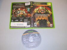 DOOM 3 (Microsoft Xbox) Game & Case