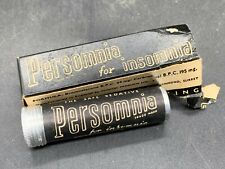 More details for vintage empty persomnia for insomnia old  chemist medical tablet tin and card