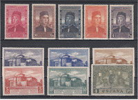 Spanien Loses 1930 Edifil 547/57 MH - Kolumbus Luft Lack nº 558