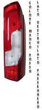 FARO FANALE POSTERIORE DESTRO 508033 PEUGEOT BOXER DAL 10/2014 BIANCO ROSSO