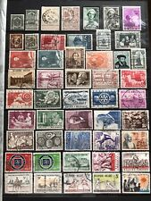 Belgium Collection of Used Stamps