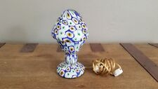 Published Vintage Murano Millefiore Lamp by Fratelli Toso