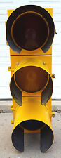 BIG Econolite-Traffic Signal-Red Yellow Green Stop Light-VTG-Adapted w Plug
