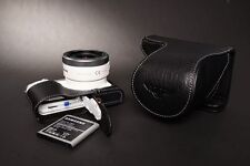 Genuine real Leather Full Camera Case bag for Samsung NX3000 16-50 22-50 Lens B