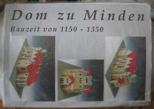 Modellbaubogen Der Dom zu Minden