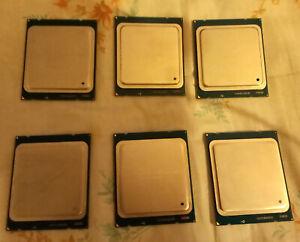 JOBLOT INTEL XEON E5 1620v2  X 7 CPU FREEPOST cheapest on eBay at £8 each !