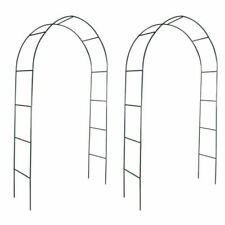 vidaXL Garden Arches for Climbing Plants - Dark Green (2 Pieces) (40776)