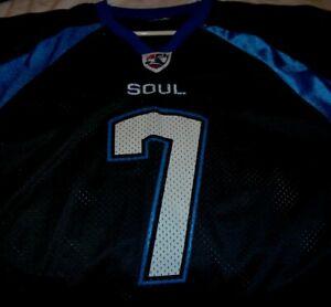 Philadelphia Soul, AFL, Ron Jaworski, #7 Short Sleeve, Half-Jersey