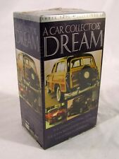 A Car Collector's Dream VHS Tapes 3 Tape Box Set  NEW Still Sealed