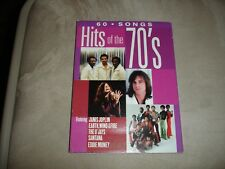 Hits Of The 70's [Sony Box Set] By Various Artists 4 CD Set 60 Songs