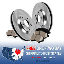 Front Brake Disc Rotors And Ceramic Pads For 1994 1995 1996 FORD BRONCO F150