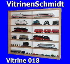 VitrinenSchmidt® 018 Vitrine / Eisenbahn HO Lok's & 1:43 Figuren u.s.w.