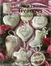 Victorian Christmas Treasures Linda Bird Design Connection Cross Stitch Patterns