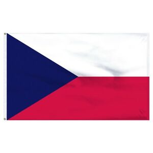 5x8 ft Czech Republic Flag House Banner 5ft x 8ft 150D SuperPoly